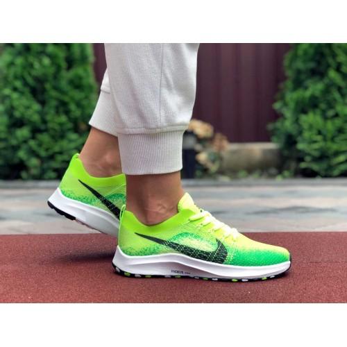 Купить кроссовки Nike Zoom салатовые в интернет магазине streetsneakers.com.ua