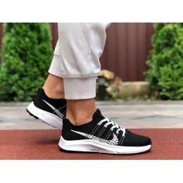 Кроссовки Nike Zoom черно белые
