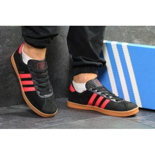 Adidas London черные с красным
