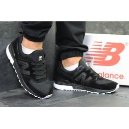 New balance 574 черно белые