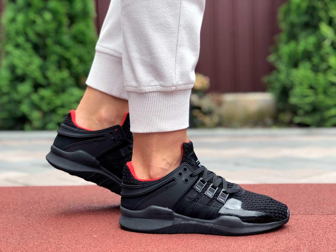 Adidas Equipment черные с красным