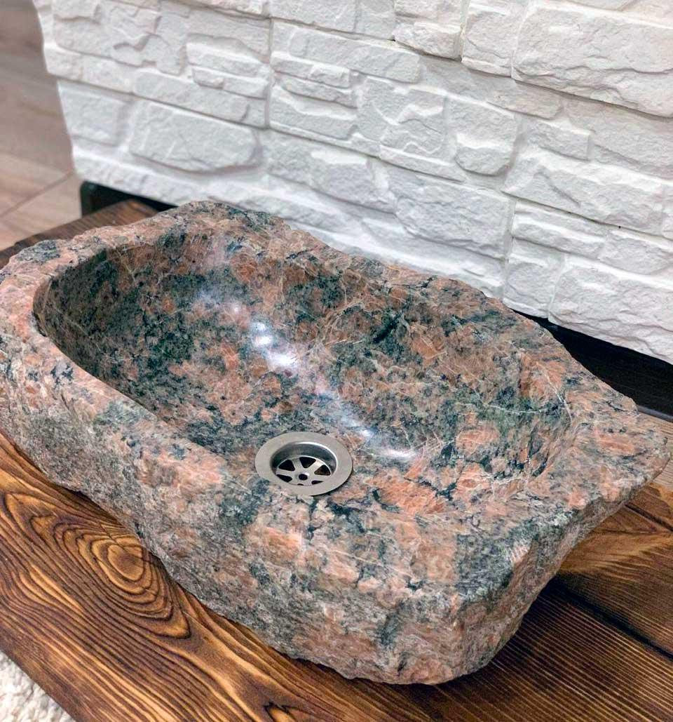 раковина из камня натурального
